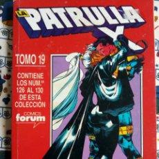 Cómics: PATRULLA X - FORUM N 126-130 RETAPADO. Lote 194271233