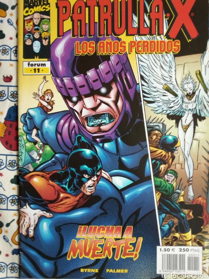 PATRULLA X - LOS AÑOS PERDIDOS N 11 (Tebeos y Comics - Forum - Patrulla X)