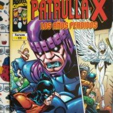 Cómics: PATRULLA X - LOS AÑOS PERDIDOS N 11. Lote 194271605