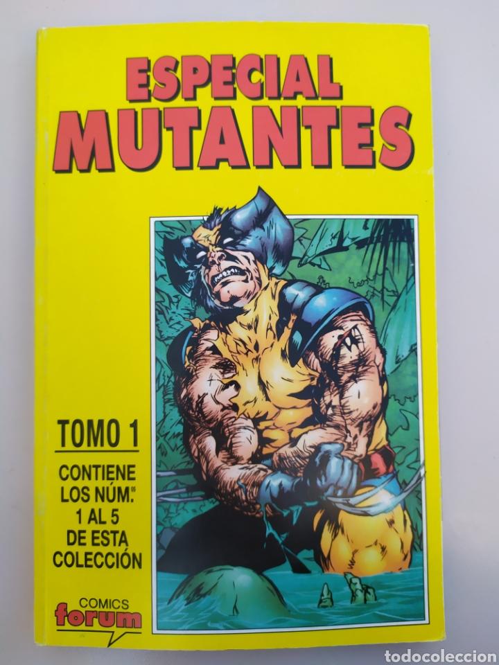 ESPECIAL MUTANTES. TOMO 1 RETAPADO. FÓRUM. # 1 AL 5 (Tebeos y Comics - Forum - Retapados)