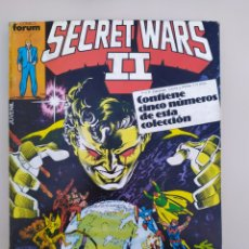 Cómics: SECRET WARS II RETAPADO.#21 AL 25 FÓRUM. 1986. Lote 194279997