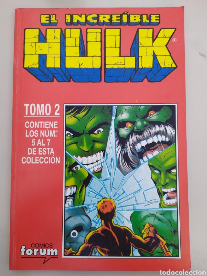 Cómics: Magnifico lote Hulk!!! 6 retapados!. Ver descripción - Foto 2 - 194289385