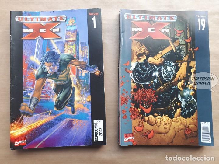 ULTIMATE X-MEN VOL 1 - 1 A 19 - ETAPA MARK MILLAR Y ADAM KUBERT COMPLETA - FORUM - JMV (Tebeos y Comics - Forum - X-Men)
