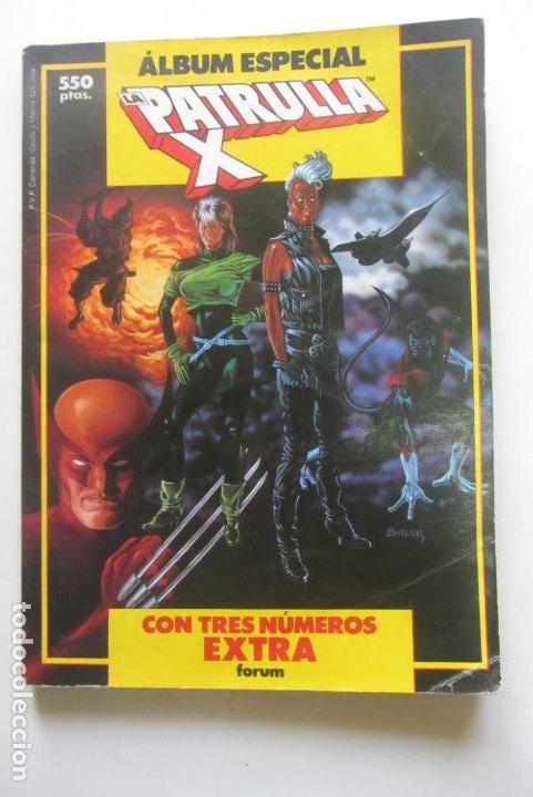 ALBUM ESPECIAL LA PATRULLA X CON 3 NUMEROS EXTRA RETAPADO FORUM CX41 (Tebeos y Comics - Forum - Retapados)