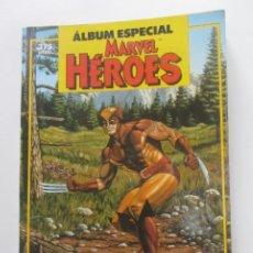 Cómics: ÁLBUM ESPECIAL MARVEL HÉROES - 2 NÚMEROS EXTRA - FORUM - 1987 CX41. Lote 194329076