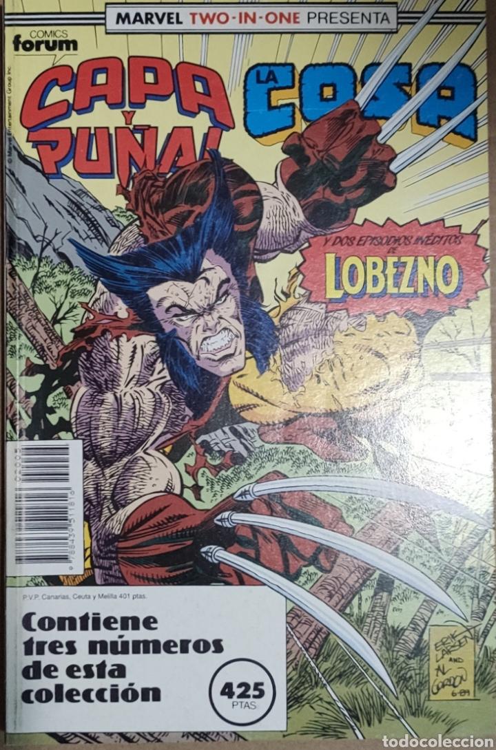 MARVEL TWO IN ONE CAPA Y PUÑAL Y LA COSA DEL 19 AL 21 (Tebeos y Comics - Forum - Retapados)