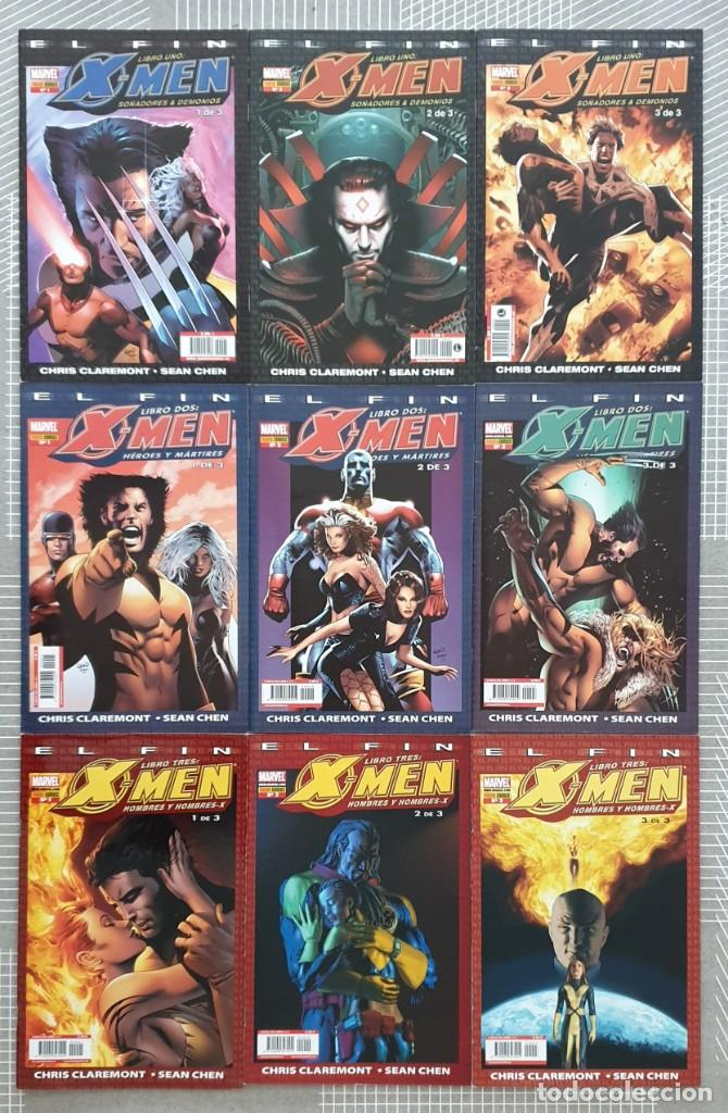 X-MEN. EL FIN DE CHRIS CLAREMONT Y SEAN CHEN. SL COMPLETA DE 9 COMICS. PANINI COMICS 2005 (Tebeos y Comics - Forum - X-Men)