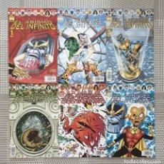 Cómics: THANOS. EL ABISMO DEL INFINITO DE JIM STARLIN. SL 6 COMICS. COMICS FORUM 2003. Lote 194378375