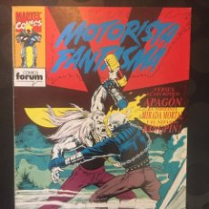 Cómics: MOTORISTA FANTASMA N.4 VS APAGON,MIRADA MORTAL Y KINGPINV. ( 1991/1994 ).. Lote 194400993