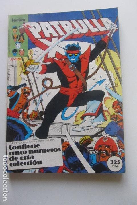 LA PATRULLA-X - RETAPADO - NºS 47-48-49-50-51 - COMICS FORUM - 1987 CX41 (Tebeos y Comics - Forum - Retapados)