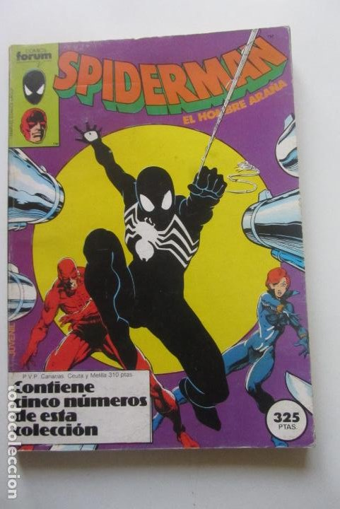 SPIDERMAN - RETAPADO - NºS 91-92-93-94-95 - COMICS FORUM - 1986 CX41 (Tebeos y Comics - Forum - Retapados)