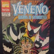 Cómics: VENENO : GUERRA DE SIMBIONTES N.1 . EDDIE BROCK A MERCED DE LOS CINCO SIMBIONTES . ( 1995 ).. Lote 194526692