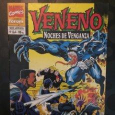 Cómics: VENENO : NOCHES DE VENGANZA N.2 ACECHO IMPLACLABLE . ( 1995 ).. Lote 194527335