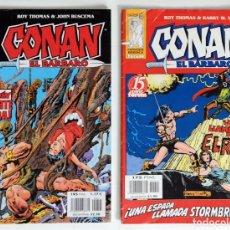 Cómics: 2 CONAN EL BARBARO - FANTASIA HEROICA Nº 14 / 41 - ROY THOMAS - FORUM . Lote 194527428