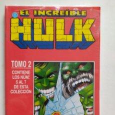 Cómics: HULK. TOMO 2 # 5 AL 7. RETAPADO. CÓMICS FÓRUM. IMPECABLE! CON PLÁSTICO DE FABRICA.. Lote 194582013