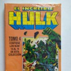 Cómics: HULK. TOMO 4 # 14 AL 19. RETAPADO. CÓMICS FÓRUM. IMPECABLE! CON PLÁSTICO DE FABRICA.. Lote 194582188