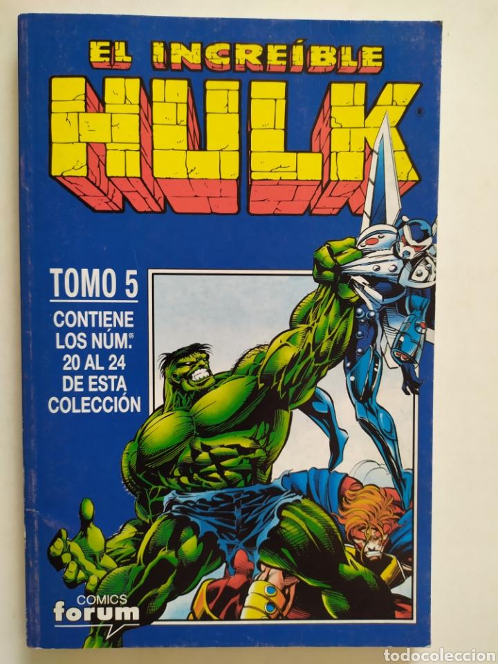 HULK. TOMO 5 # 20 AL 24. RETAPADO. CÓMICS FÓRUM. POSEO MÁS COMICS EN VENTA. (Tebeos y Comics - Forum - Hulk)