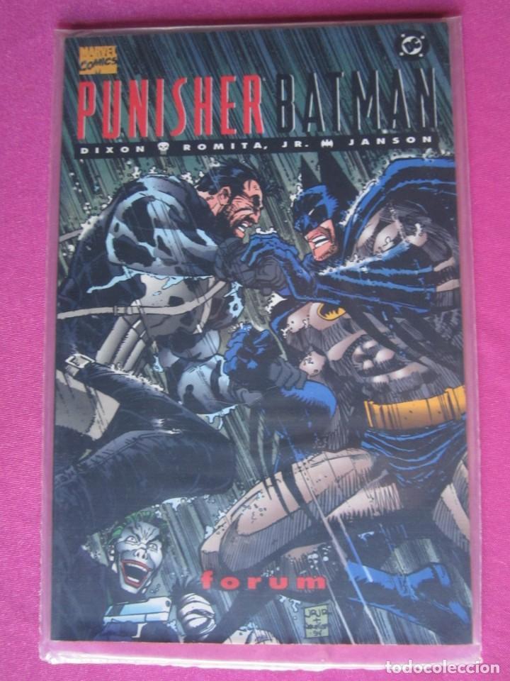 PUNISHER BATMAN FORUM ZINCO EXCELENTE ESTADO (Tebeos y Comics - Forum - Prestiges y Tomos)
