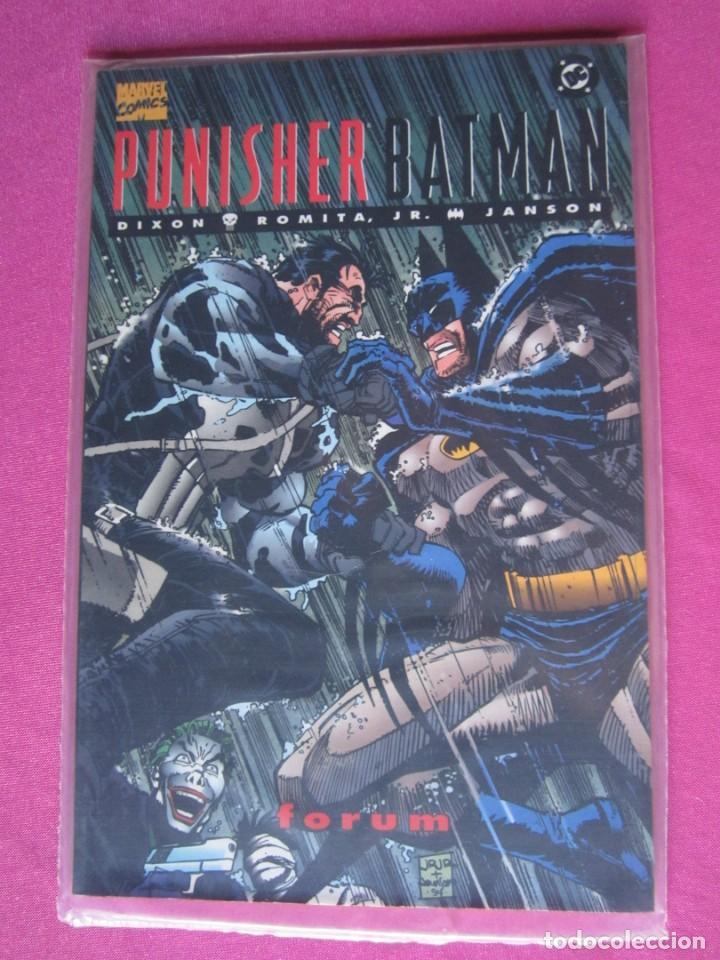 Cómics: PUNISHER BATMAN FORUM ZINCO EXCELENTE ESTADO - Foto 3 - 261136290