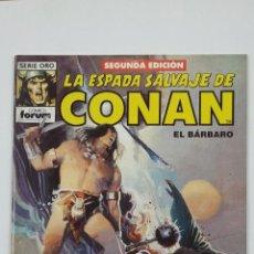 Cómics: LA ESPADA SALVAJE DE CONAN EL BARBARO. Nº 54. SERIE ORO - COMICS FORUM - SEGUNDA EDICION. TDKC47. Lote 194619288