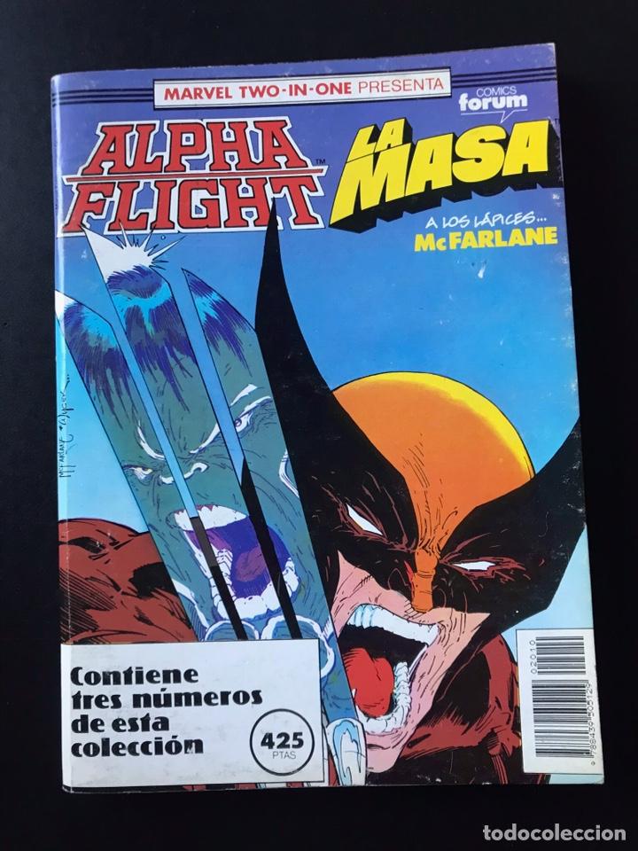 TOMO RETAPADO ALPHA FLIGHT LA MASA 54 55 56 COMICS FORUM (Tebeos y Comics - Forum - Hulk)