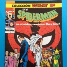Cómics: Nº 29 - COLECCIÓN WHAT IF VOL.1 FORUM - SPIDERMAN. Lote 194709285