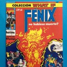 Cómics: Nº 37 - COLECCIÓN WHAT IF VOL.1 FORUM - LA PATRULLA X. Lote 194710715