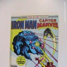 Cómics: IRON MAN RETAPADO NÚMEROS 44 AL 46. FORUM.. Lote 194731320