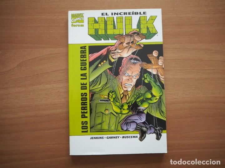 EL INCREÍBLE HULK. LOS PERROS DE LA GUERRA - PAUL JENKINS, RON GARNEY & SAL BUSCEMA (Tebeos y Comics - Forum - Hulk)