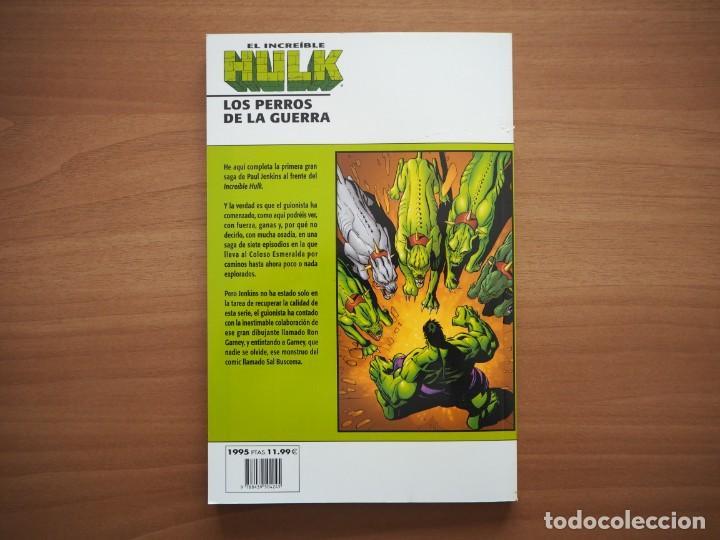 Cómics: EL INCREÍBLE HULK. LOS PERROS DE LA GUERRA - PAUL JENKINS, RON GARNEY & SAL BUSCEMA - Foto 2 - 194735015