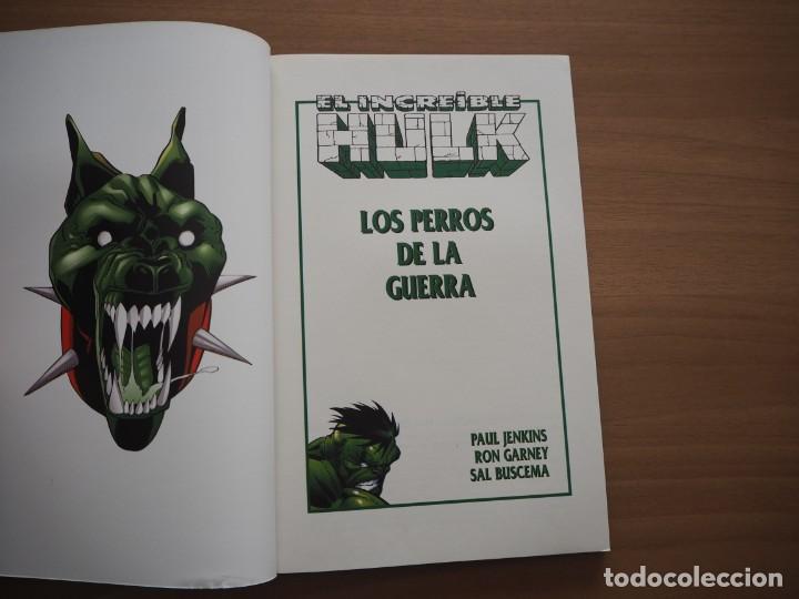 Cómics: EL INCREÍBLE HULK. LOS PERROS DE LA GUERRA - PAUL JENKINS, RON GARNEY & SAL BUSCEMA - Foto 6 - 194735015
