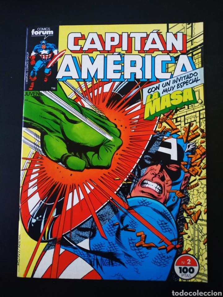 EXCELENTE ESTADO CAPITAN AMERICA 2 FORUM (Tebeos y Comics - Forum - Capitán América)