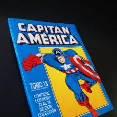 Cómics: MUY BUEN ESTADO CAPITAN AMERICA TOMO 13 CONTIENE 72 AL 74 FORUM RETAPADO. Lote 194753067
