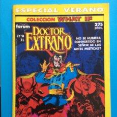 Cómics: ESP. VERANO 1990 - COLECCIÓN WHAT IF VOL.1 FORUM- DOCTOR EXTRAÑO. Lote 194757118