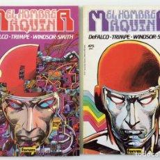 Cómics: N º 11 Y N º 13 - EDICIÓN PRESTIGIO CÓMICS FORUM - EL HOMBRE MÁQUINA 1 Y 2. Lote 194764851