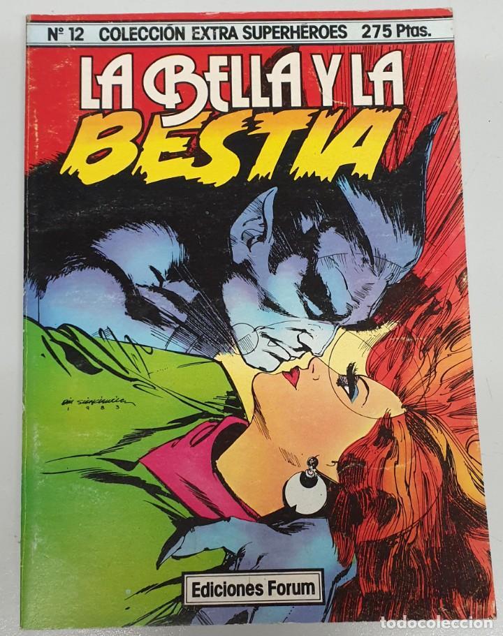 LA BELLA Y LA BESTIA - COLECCION EXTRA SUPERHEROES Nº 12 / FORUM (Tebeos y Comics - Forum - Prestiges y Tomos)