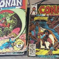Cómics: 17,CONAN, CONAN EL BARBARO 9, LA ESPADA SALVAJE 7, CONAN REY 1, VER NUMEROS. Lote 194834827