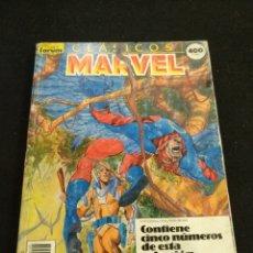 Cómics: CLÁSICOS MARVEL, TOMO CONTIENE 5 NÚMEROS, DEL N° 21 AL 25, FORUM,. Lote 194872907