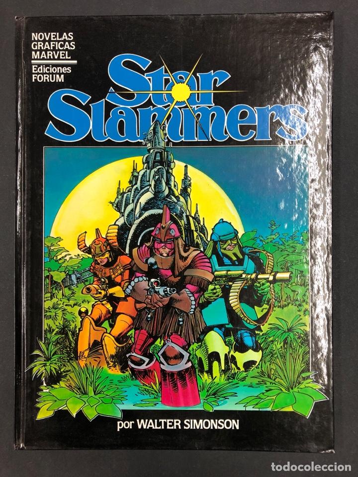 STAR SLAMMERS 4 - WALTER SIMONSON - FORUM 1982 (Tebeos y Comics - Forum - Prestiges y Tomos)