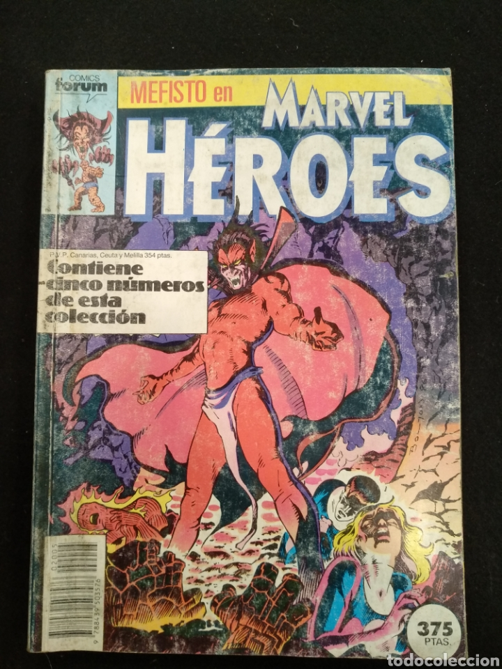 FORUM MARVEL HEROES, TOMO CINCO NÚMEROS DEL 26 AL 30 (Tebeos y Comics - Forum - Prestiges y Tomos)
