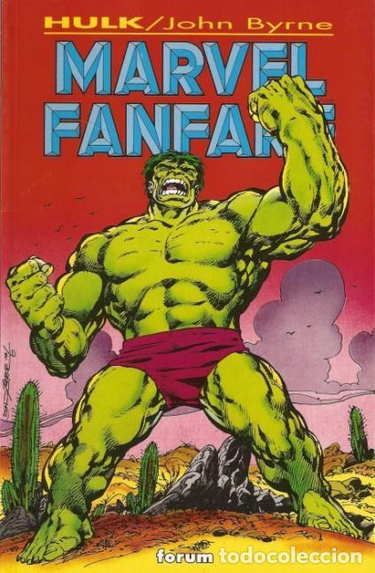 MARVEL FANFARE- Nº 2 -HULK-JOHN BYRNE-1995-BUENO-ESCASO-MUY DIFÍCIL-LEAN-3129 (Tebeos y Comics - Forum - Hulk)