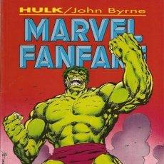 Cómics: MARVEL FANFARE- Nº 2 -HULK-JOHN BYRNE-1995-BUENO-ESCASO-MUY DIFÍCIL-LEAN-3129. Lote 194886061