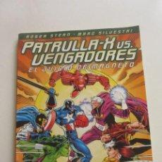 Cómics: PATRULLA X VS VENGADORES - EL JUICIO DE MAGNETO FORUM. MUCHOS MAS A LA VENTA MIRA TUS FALTAS CX43. Lote 194911500