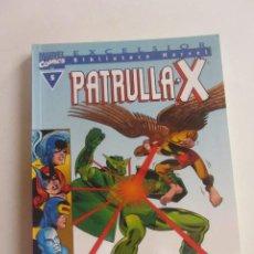 Cómics: BIBLIOTECA MARVEL PATRULLA X Nº 5 FORUM MUCHOS MAS A LA VENTA MIRA TUS FALTAS CX43. Lote 194912008