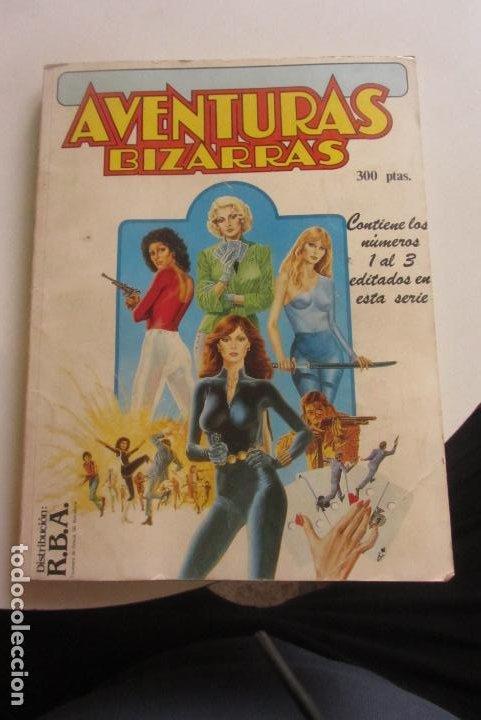 AVENTURAS BIZARRAS - CONTIENE LOS NºS 1 AL 3 - FORUM VIUDA NEGRA HIJAS DRAGON ELEKTRA CX43 (Tebeos y Comics - Forum - Retapados)