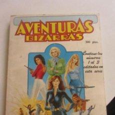 Cómics: AVENTURAS BIZARRAS - CONTIENE LOS NºS 1 AL 3 - FORUM VIUDA NEGRA HIJAS DRAGON ELEKTRA CX43. Lote 194912123