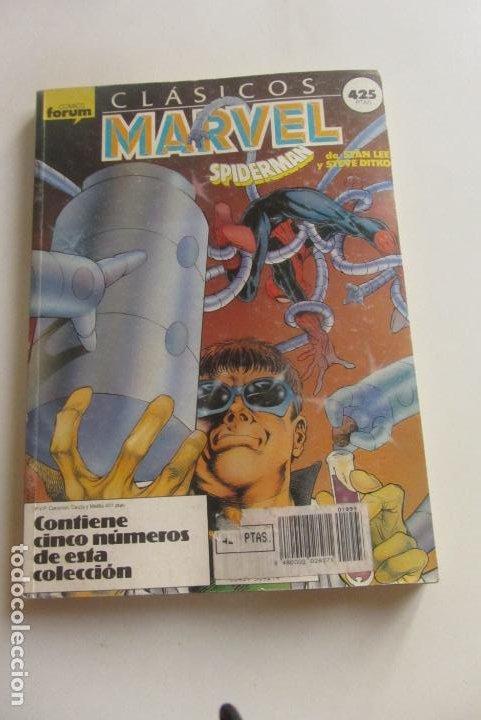 CLASICOS MARVEL RETAPADO CON LOS NUMEROS 31 AL 35. FORUM 1988 CX43 (Tebeos y Comics - Forum - Retapados)