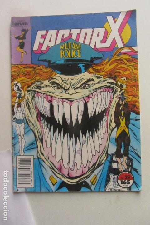 X-FACTOR VOL I Nº 29 FORUM MUCHOS MAS ALA VENTA MIRA TUS FALTAS CX43 (Tebeos y Comics - Forum - Factor X)