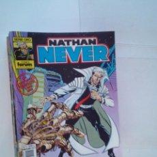 Cómics: NATHAN NEVER - EDITORIAL FORUM - COLECCION COMPLETA - 19 NUMEROS - NUEVA - IMPECABLE - GORBAUD. Lote 194924190