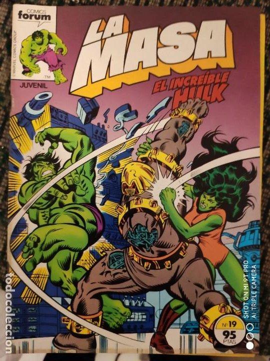LA MASA FORUN NUMERO 19 (Tebeos y Comics - Forum - Daredevil)